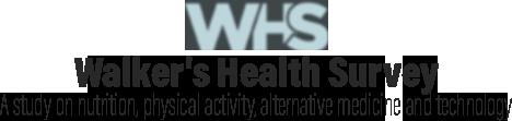 Walker's Health Survey
